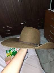 Chapéu pralana marrom, usado pouquíssimas vezes