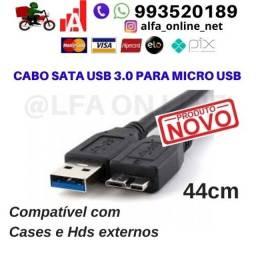Cabo de dados usb 3.0 para micro Usb alta velocidade para Hd externo