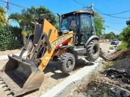 Retroescavadeira Case 4x4 2007 - 2008 - 2009 - 2010 - 2011 - 2012
