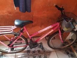 Bicicleta rosa 250'00