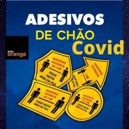 Adesivos de chão COVID ou outros temas