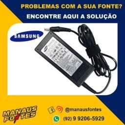 Fonte Carregador Notebook Samsung 19V Ponta Padrão! Mais Informações no WhatsApp