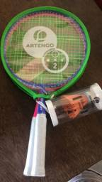 Raquete Badminton + Red