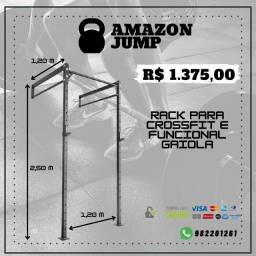 Rack Para Crossfit E Funcional Gaiola R$ 1.375,00