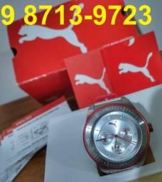 Relógio Unissex Puma Original, NOVO (caixa, certificado). Oportunidade! Parcelo 12x