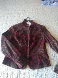 Jaqueta camurça feminina