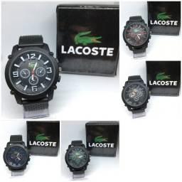 Relógio Lacoste Predator Preto
