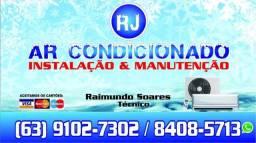 Instalação ,higienização e manutenção em ar condicionado