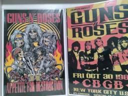 Guns n' Roses  quadro mdf