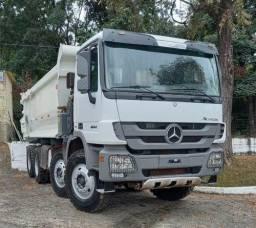 Título do anúncio: Mercedes-benz Actros 4844 8x4 Ano 2014 Caçamba