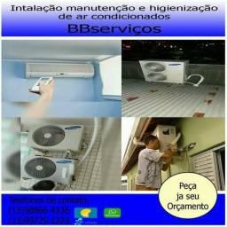 Instalaçao de ar condicionados split