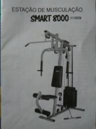 9822b9fa917 Aparelho de Musculação Smart 8000 Life Zone