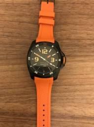 951b8218f1b Relógio Tommy Hilfiger Pulseira Borracha Laranja