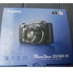 Canon PowerShot SX160 IS Vermelha 16x zoom