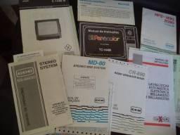 Manual de Instrução Antigos Tvs Systems Impressoras/. - Valor Unitário