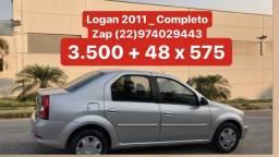 Logan 1.0 - 2011 _ Completo _ 2 Dono _ Pouco Rodado - 2011