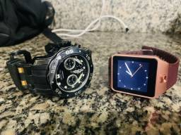 Vendo dois relógios