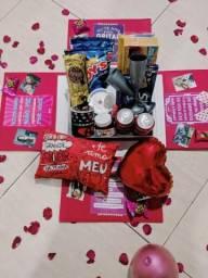 Caixa Explosão de Amor- Presente de Aniversário Encomendas
