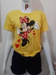 Blusas t-shirts R$25,00 com entrega