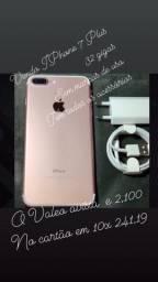 Vendo iPhone sem marca de uso 7 Plus