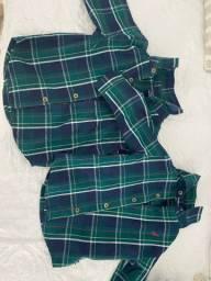 Camisas sociais masculinas 1+1 e náutica R$90,00 cada