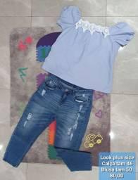 Calças jeans Plus Size