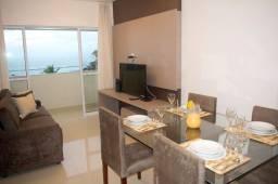 Aluga-se apartamento mobiliado de 3 quartos