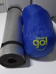 Saco de Dormir Coleman + Isolante Térmico Aluminium