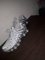 Nike Shox Tl, 12 mola Branco e cinza