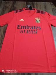 Camisa de time Benfica adidas tamanho G