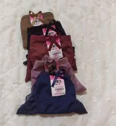 Kit 03 calcinhas Rendadas linha Sexy Confort para mulheres trans, CD, Crossdresser
