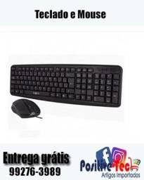 Teclado e mouse Inova (entrega rápida)