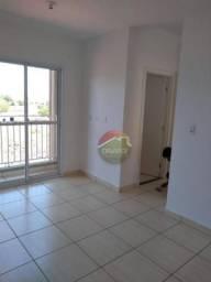 Apartamento com 2 dormitórios para alugar, 48 m² por R$ 680,00/mês - Bonfim Paulista - Rib