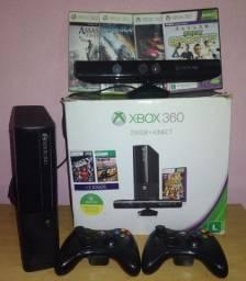 Xbox 360 Super Slim HD 250GB completo