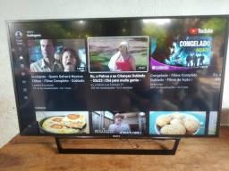 Tv smart 49 Sony Full HD impecável,pego tv com volta pra mim