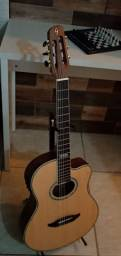 Violão giannini flat gnf-3...troco por guitarra