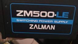 Fonte Zalman 500w Bivolt - 200 reais
