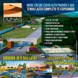 Lotes na Praia Porto das Dunas 5 mints Beach Park Aquiraz CE (Ref.13)