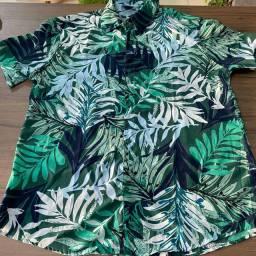 Camisas floridas PROMOÇÃO