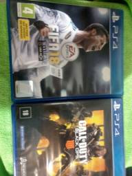 GAME PS4 ACEITO TROCA