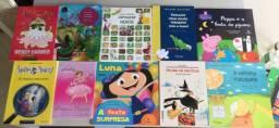 Coleção livros infantis diversos títulos