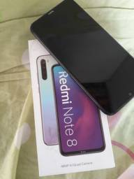 Vendo  Redmi Note 8 de 64 gb + Fone Bluetooth