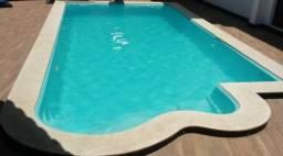 JU - Promoção Piscina de Fibra 6 x3 12 x Sem entrada - -Delluca Lago santa