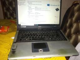 Notbook Acer precisa colocar outro windos tá com virus