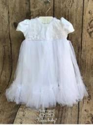 Vestido infantil (batizado)