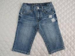 Calça Jeans Guess Baby Bebê Menina Com Regulagem Usada Ótima