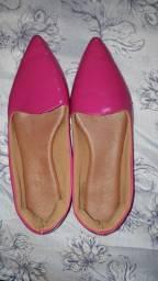 Sapatilha rosa pink