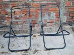 Vendo 2 cadeiras de ferro