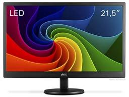 Monitor Aoc Led Widescreen de 21.5