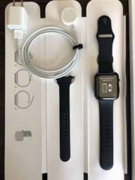 Apple Watch série 3 42mm completo sem marcas de uso nenhuma